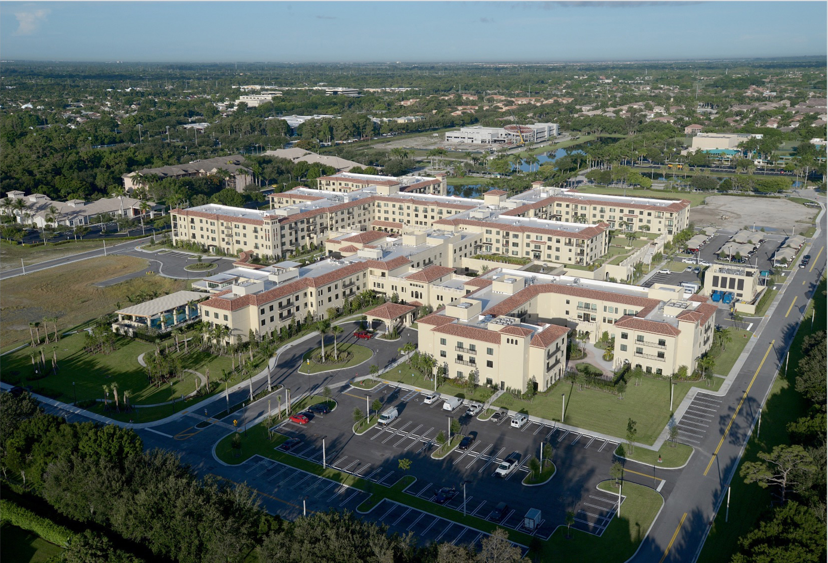 Our electrical contracting firm in Palm City, Stryker Electric, has been a major electrical contractor for healthcare and assistant living facilities across the Southeast USA, including the Sinai Residences.