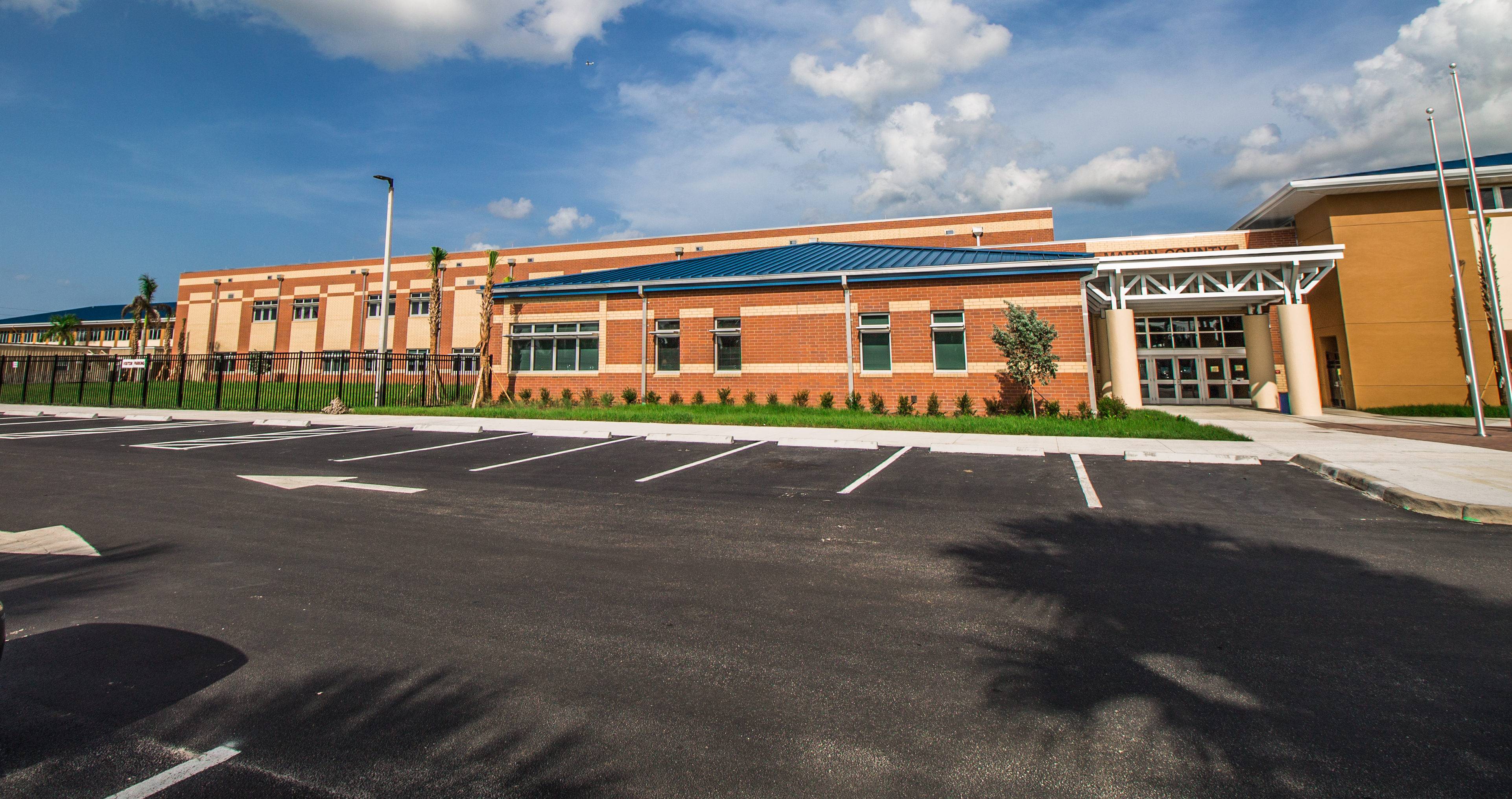 As an electrical contractor in Palm City, we have contributed decisively to many electrical construction projects across the Southeastern USA, including the Martin County High School in Florida.